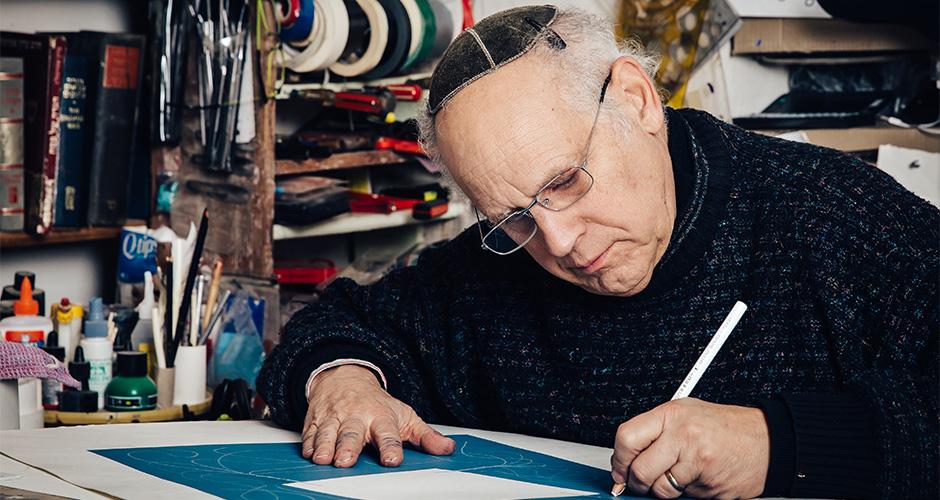 David Moss - calligrapher